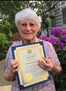 2019 Faith and Service Award Winner
